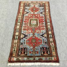 Beautiful hand-knotted Hamadan carpet, 215 x 102 cm, approx. 10 years old