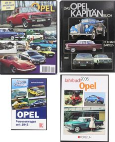 Das Opel Kapitän Buch - Typen Kompass -  Jahrbuch 2005 Opel - from the archives of Opel