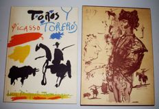 Pablo Picasso (after) -  Toros y Toreros