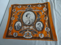 Queen Wilhelmina Coronation Commemorative Canvas 31 August 1898