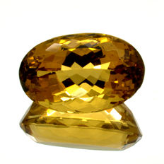 Madeira Citrine - 13.88 ct.  - No reserve Price