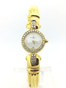 Baume & Mercier - 18K (750)  Gold and diamonds - Ladies watch - Year: 1990-1999