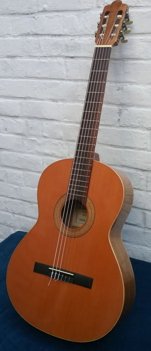 Cl Ical Spanish Francesco Manuel Diaz Guitar 18 E Model