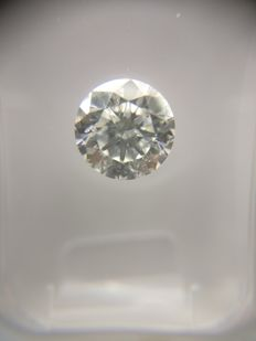 1.03 ct Round cut diamond E SI1