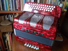 "Delicia Favorit III - ""B-Es-As"" Diatonic Accordion- 1993"