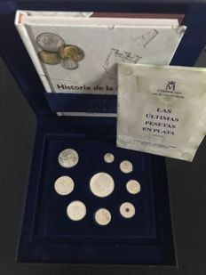 The last pesetas in silver limited print run Spain 2001