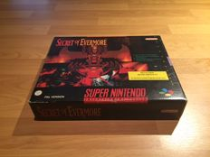 Snes -Secret of Evermore- Big Box