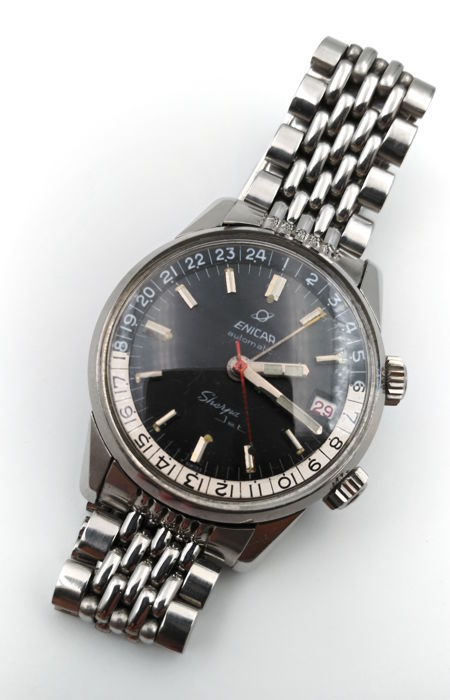 Enicar - Sherpa Jet Automatic GMT - Heren - 1960-1969