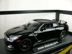 Jada-Dub City - scale 1/18 - Nissan GT - R 2009 - black