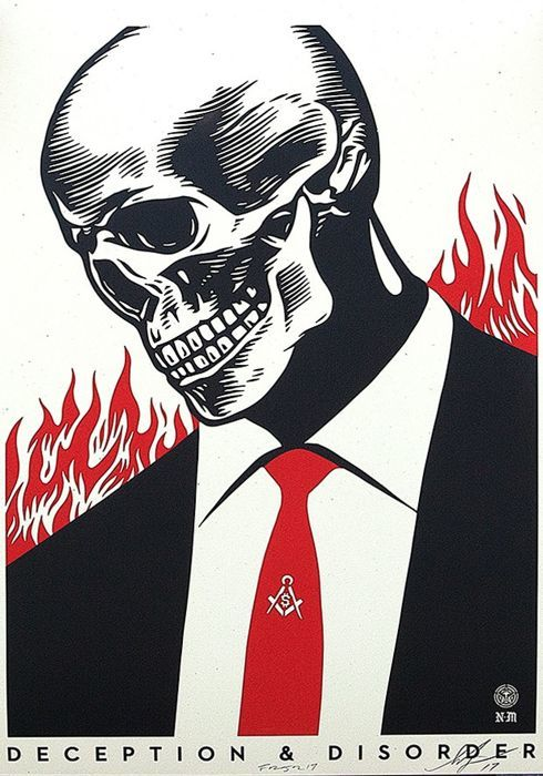 Shepard Fairey (OBEY) -  Deception & Disorder