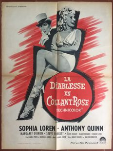 Anonymous - La diablesse en collants rose / Heller in pink tights (Sophia Loren, Anthony Quinn) - 1960