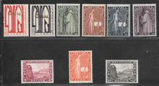 Belgium 1928 –First Orval –OBP 258/266