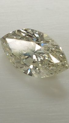 1.50 ct - Marquise white - H/VS2