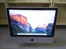 "Apple iMac 20"" - Intel C2D 2.4Ghz, 3GB RAM, 320GB HDD, ATI 2600 HD 256MB Graphics - model nr A1224"