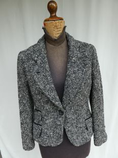 Dolce & Gabbana ® – tweed jacket – 100% made in Italy – IT size 42