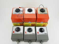 Trix- 5503/5502 - Three line transformers and three-piece connection devices for multi train system