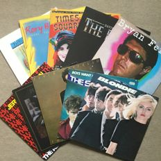 Lot of 10 fantastic wave pop rock albums from the 80s - Blondie, Jerry Harrison, Subtones, Bryan Ferry  u.a.