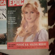 8 issues of EPOCA magazine, 1960s