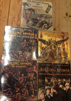 Five albums of The Rolling Stones || Still sealed || Limited edition || Coloured vinyl ||