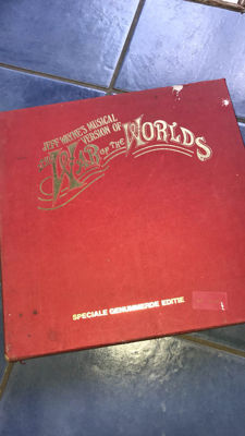 War of the Worlds jeff wayne,s Limited numbered Edition