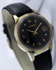 Movado Gold Top Men's Vintage Wristwatch - circa 1950s