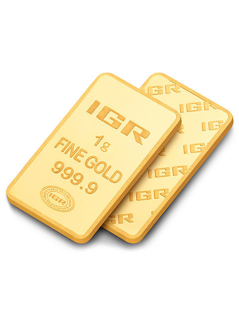 1 G Sealed Gold Bar 24K, *** No Reserve ***