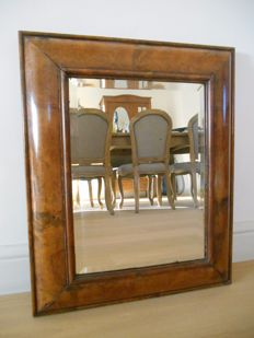 Mirror in walnut - France - 20th century