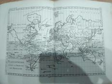 Atlas; François Raynal, Bonne Rigobert - Atlas of all the known parts of the globe - 1780