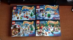 City - 7553 - 4428 - 60024 - 60063 Advent Calendars 2011, 2012, 2013, 2014