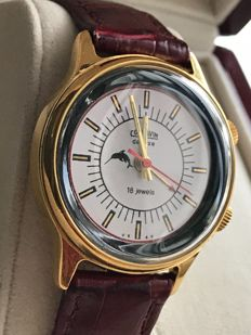 "Poljot ""Cornavin de Luxe""/Men's/ 1970's-with Alarm.Very rare export model! USSR/СССР"