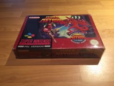 Snes - Super Metroid-  Big Box