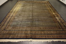 Wonderful handwoven Oriental carpet Sarouk Mir 270 x 355 cm, made in India Tappeto Tapis Tapijt carpet