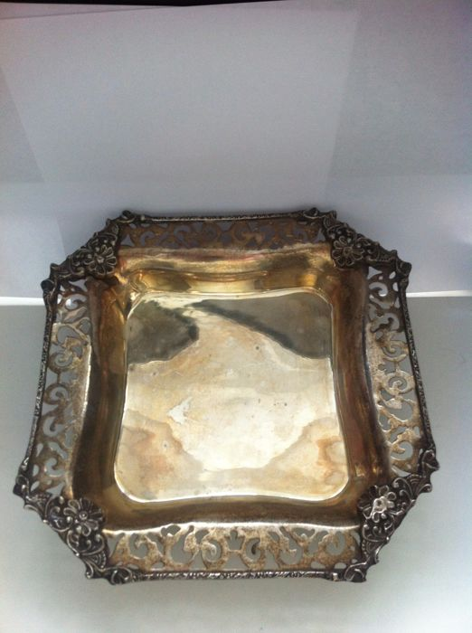 Silver Plated Tray, Sheffield, U.K., ca.1940/50