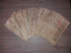 Acupuncture; Set of 10 traditional Chinese medical acupuncture booklets - 1st half 20th century