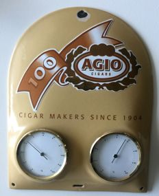 Enamel advertising sign - Algo cigars