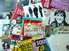 "UK and US Punk & New Wave - Lot of 30 7"" singles (Various labels 1977-1989) - UK and other press"