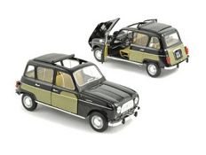 Norev - Scale 1/18 - Renault 4L Parisienne 1963 - Green