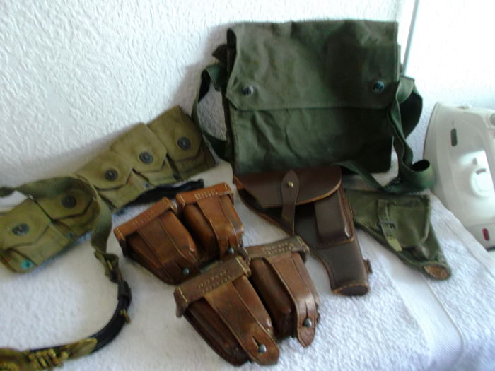 Lot of military items