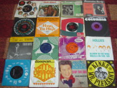 Singles collection of the late fifties and the sixties.