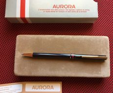 2 different versions of Aurora Marco Polo Roller pens