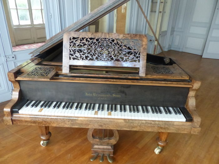 john brinsmead piano serial number location