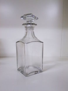 Crystal Decanter, Baccarat PERFECTION , Signed, mid 20th century