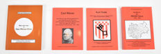 Lot with four books by Michael Rademaker about the NSDAP/Carl Röver/Kurt Thiele - 2000/2005