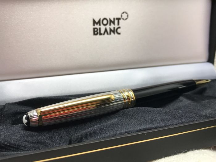 190876afb4a Montblanc Meisterstuck Solitaire Doue Sterling Silver Pinstripe ...