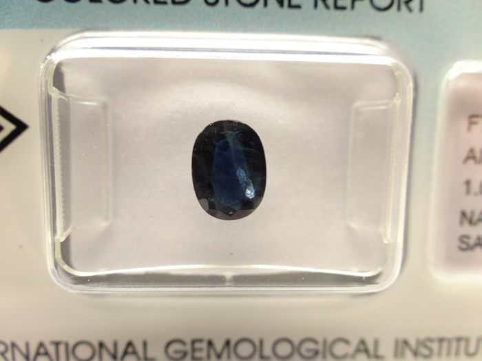 Sapphire - 1,06 ct - no limit price