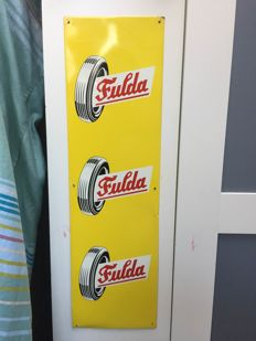 Fulda tyres advertising sign