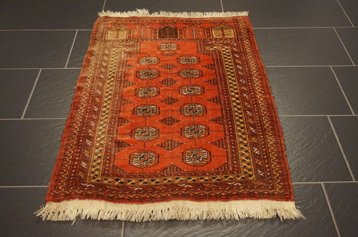 Wonderfully beautiful antique hand-knotted Art Deco Afghan oriental carpet, 80 x 110cm, Afghan, made in Afghanistan