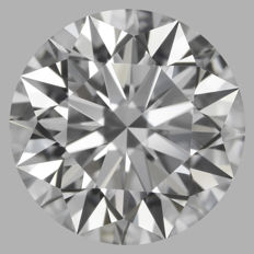 Round Brilliant  1.20ct   D IF 3EX  IGI- original image -10x #18105