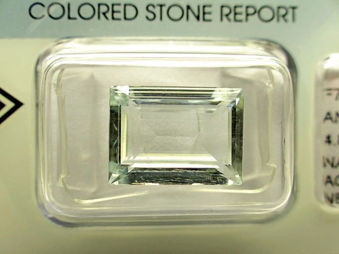 Aquamarine - 4,88 ct - no limit price