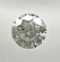 0.48 ct Round cut diamond E SI1    -No Reserve